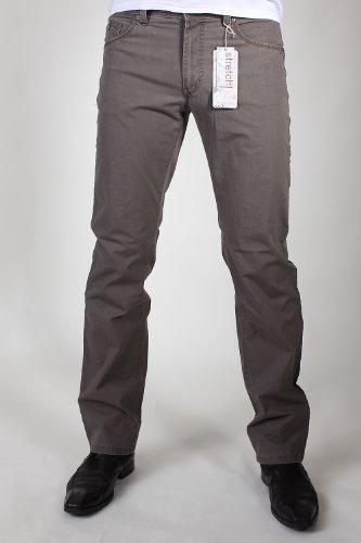 PIONEER 1611-3782-40 RANDO Sommer-Stretch-Jeans braun: Weite: W33 | Länge: L34
