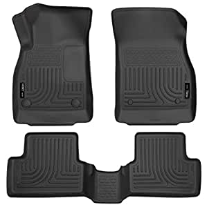 Husky Liners 98161 Black Custom Molded First Second Seat