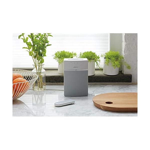Bose SoundTouch 10 Système Audio sans Fil avec tous les appareils avec Amazon Alexa intégré - Blanc 4