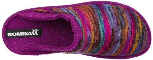 Romika Mikado 66 - Zapatillas de casa de material sintético mujer multicolor - Mehrfarbig (fuchsia-bunt 489)