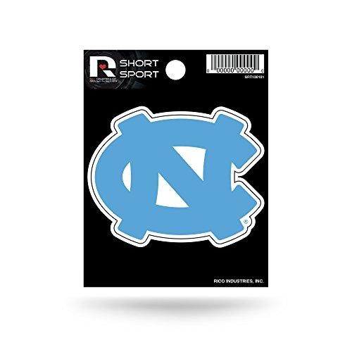 Rico Industries NCAA North Carolina Tar Heels Die Cut Team Logo Short Sport Sticker