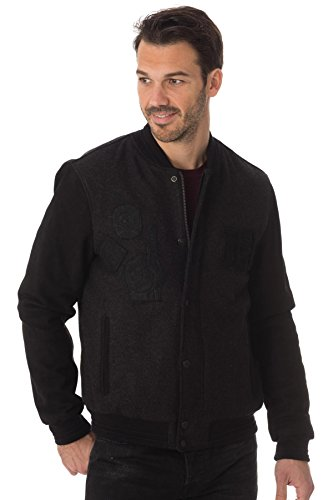 Chevignon Blouson B-game gris anthracite