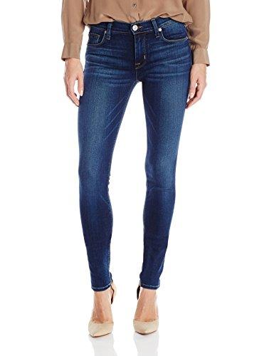 Hudson Jeans Womens Nico Midrise Supermodel Super Skinny Jean  Blue Gold  31