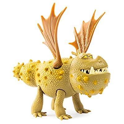 Dreamworks Dragons, Meatlug Dragon Figure with Moving Parts, for Kids Aged 4 and Up: Toys & Games