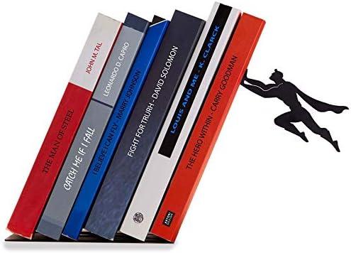 arancione 2 pezzi Fermalibri creativi del libro del libro del metallo del supporto di libro adorabile del libro del desktop