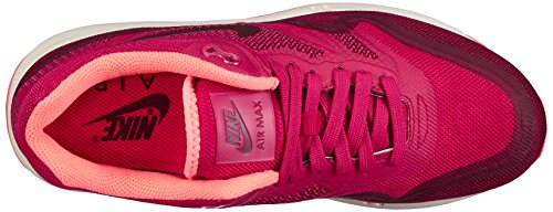 Nike Air Max Lunar 1, Damen Laufschuhe Training Mehrfarbig (Fchs Frc/Lt Mgnt Gry-Brght Mng)