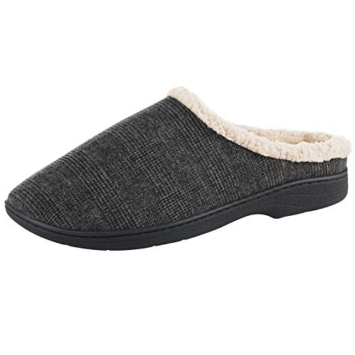 Foam Comfort Slip Indoor On Memory with Mineral Men's Slipper Microsuede for Outdoor with Devin Cooling qzxOU1p