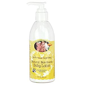 Earth Mama Angel Baby Natural Non-Scents Baby Lotion - Fragrance Free - 8 oz