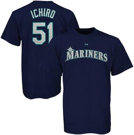 Ichiro Suzuki Seattle Mariners Navy