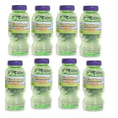 (2) ~ 4 Pack ~ Gazillion 8oz Bubbles Solution: Office Products