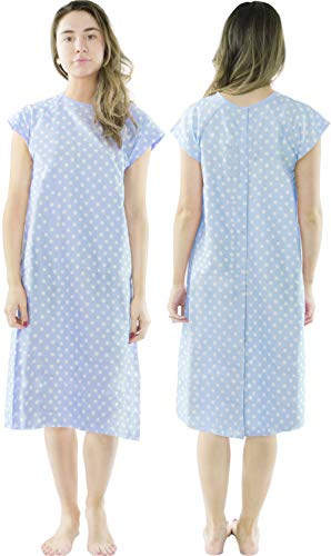 Halloween Costumes Patient Gown (Utopia Care Hospital Gown - Patient Gown - Maternity Gown with Breastfeeding Support (Small/Medium,)