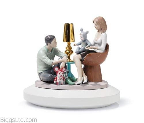 Lladro The Family Portrait Figurine - Plus One Year Accidental Breakage -