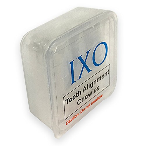 IXO Aligner Chewies for Invisalign Trays, Unscented, Clear Tray to Speed Up Treatment, Soft & Spongy, Small Roll, Reduce Gaps in Teeth, Beautiful Smile, Smooth and Quick Multi Colors (5 PCs) (White) by Holistic Store (Image #4)