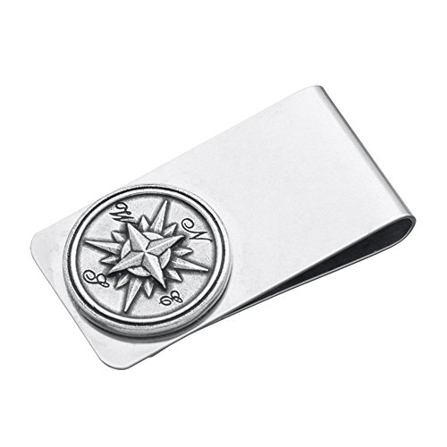Danforth Compass - Danforth - Compass Rose Money Clip