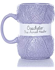 Boxer Gifts One Armed Hooker Novelty Crochet Mug Realistic Yarn Detailing