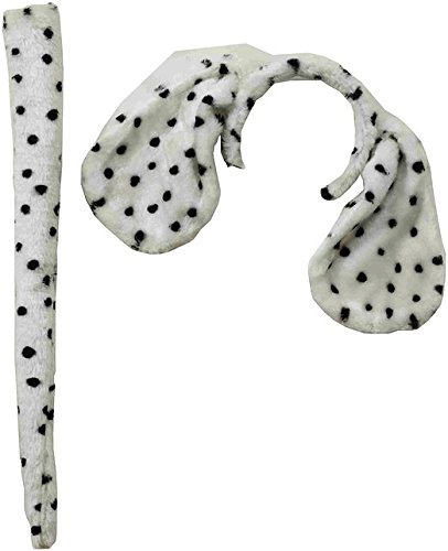 Forum Novelties Dalmatian Ears and Tail Set for Women, Multi, Standard