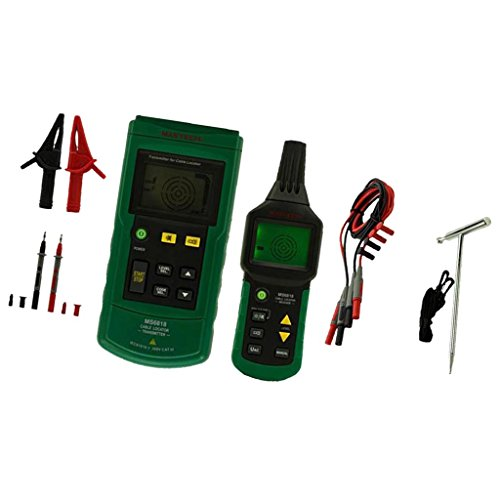 MagiDeal MS6818 Portable Wire Cable Tracker Metal Pipe Locator Detector Tester