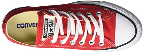 Converse Unisex Chuck Taylor All Star Ox Sneaker (3.5 Us Men / 5.5 Us Women, Navy.) Rosso