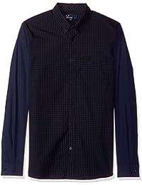 Mens Tonal Gingham Shirt