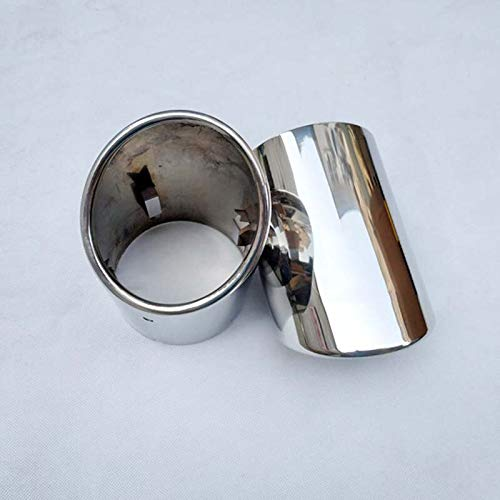 ABRAMOV DMITRY - for cadillac ats l 2013 2015 ct6 muffler Stainless steel Exhaust Tip Muffler Pipe car accessories ()