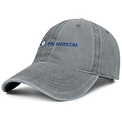 - Fn Herstal Mdash Logo Women Men Jeans Hats Classic Baseball Swimming Hats