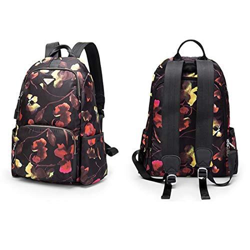Camouflage Anti Borsa viaggio Donna Zaino viaggio Borsa Taglia Bags impermeabile Media Lady CarrieyukiCarrie Cloth Oxford da da Shoulder Camouflage Theft Colore Schoolbags 178vvwxq