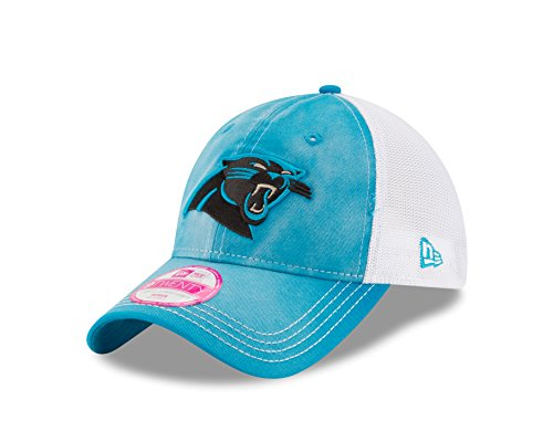 NFL Carolina Panthers Women's NE Spirited 9TWENTY Trucker Adjustable Cap, One Size