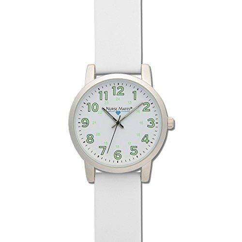 Nurse Mates Women's Luminous Watch White