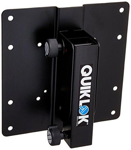 Quik Lok DSP-390 Universal Mount for Led Flat Screens, LCD Displays & Video Monitors up to (Quik Lok Speaker Stand)