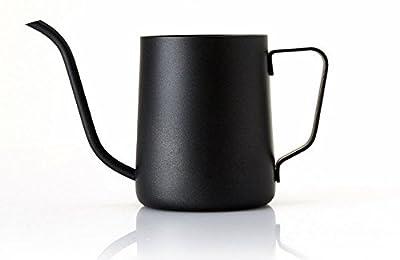 Lautechco 350ml Stainless Steel Gooseneck Pour Over Drip Coffee Maker Tea Coffee Cup Pot Tea Tools Kitchen Tools Matt