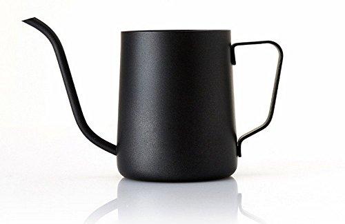 Lautechco 350ml Long Narrow Spout Stainless Steel Coffee Spout Kettle ()