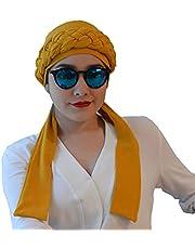 Turbante Oncologico de algodón modelo Elega