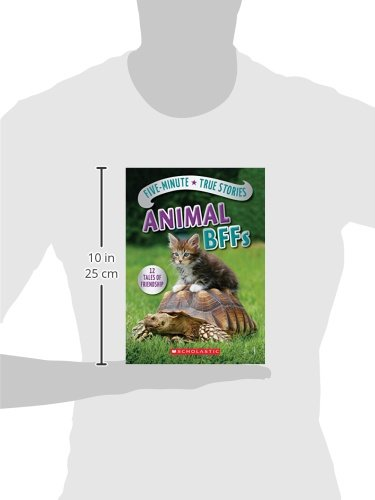 Five-Minute True Stories: Animal BFFs by SCHOLASTIC (Image #2)