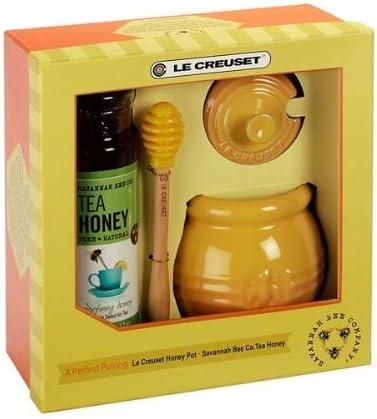 Le Creuset Pot à Miel En Céramique Avec Motif Savane Bee Co Miel Jardin Pelouse De L Entretien Amazon Fr Jardin