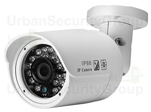 Cheap USG Sony+TI 5MP 2592×1920 IP Bullet Security Camera: PoE + 3.6mm Wide Angle Lens + 24x IR LEDs For 65 Feet Night Vision + IR-Cut + IP66 NEMA 4x Outdoor Rated + ONVIF