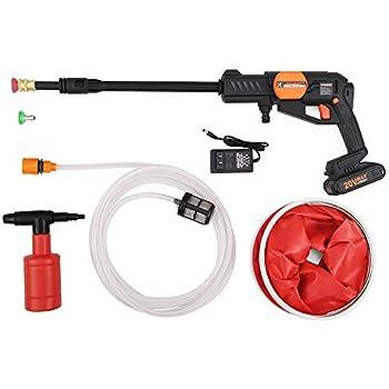 Amazon Com Huahe Cordless Portable Power Pressure Washer