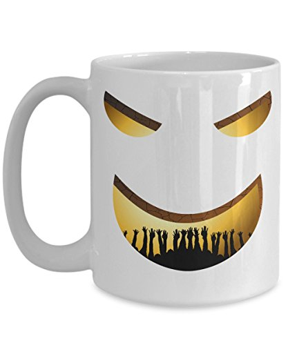 Hell Mug Purgatory Trapped Face Scary Creepy Halloween Gift -