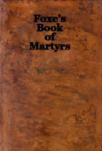 foxs book of martyrs