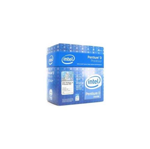 4 Intel Processor Pentium Lga775 (Intel Pentium D Processor 950 4M Cache, 3.40 GHz, 800 MHz FSB)