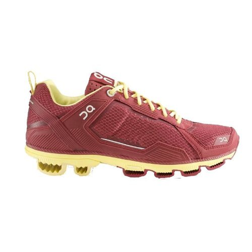 On Running Cloudrunner Tibetan Red-Limelight Women's Runn...