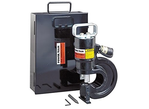 (SPX Power Team HP35SP Punch Set with PE172 Electric/Hydraulic Pump)