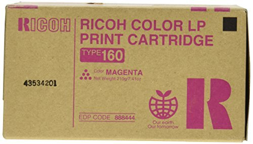 Ricoh 888445 Ricoh 888442, 888443, 888444, 888445 - Type 160 Toner Cartridge RIC888445 RIC 888445 ()