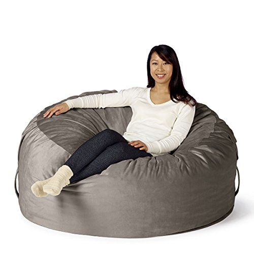 41EEIrQX2sL - Take-Ten-Large-50-Luxury-Bean-Bag-Chair--Multiple-Colors-Seats-1-to-2-Adults-Durable-and-Comfortable