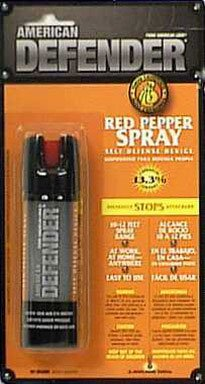 Master Lock Ad102d American Defender Pepper Spray, 2.5 Oz, Red