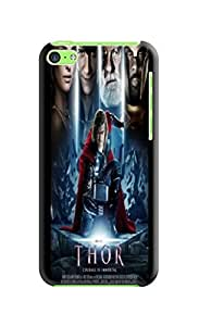 Steven L.Cummings Popular sell design tpu phone cover/case/shell with texture for iphone5c (Chris Hemsworth Thor)