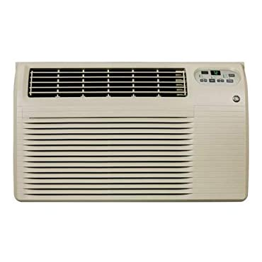 GE AJEQ10DCF 9,900 BTU 230/208-Volt Through-the-Wall Air Conditioner with Heat and Remote