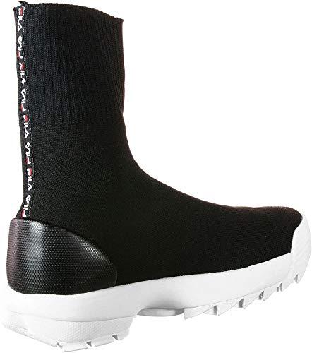 Chaussures Disruptor Sockboot Fila Black W xa0PU0qw1