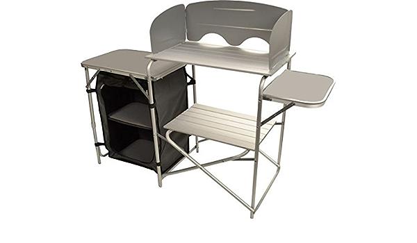 viamondo, Mobile Cocina Maxi de aluminio con zanzairera para Camper Caravan Camping
