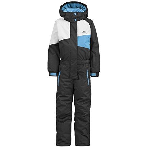 Trespass Childrens/Kids Wiper One Piece Ski/Snow Suit (11/12 Years) (Black)