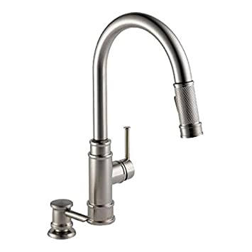 Delta 19935 Spsd Dst Allentown Single Lever Handle Kitchen Faucet